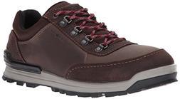 ECCO Men's Oregon Retro Sneaker Hiking Boot,Coffee/Coffee,45