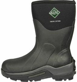 Original Muck Boot Men's Arctic Sport Mid Winter Boots Black