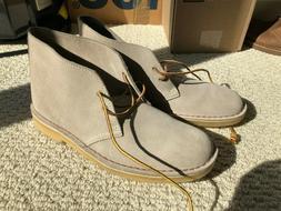 Clarks Originals Beautiful Tan Suede, Men Desert Boots Size