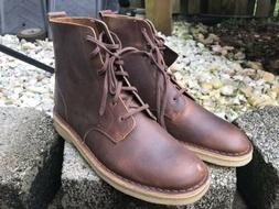 Clarks Originals Men's Desert Mali Boots Beeswax Leather 261