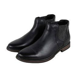 Steve Madden P Quahog Mens Black Leather