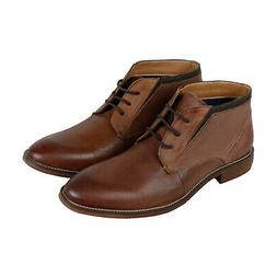 p ripcord mens brown leather lace up