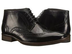Steve Madden Parcell Wingtip Men's Leather Lace-up Ankle Boo