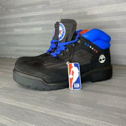 Timberland Philly 76ers Field Boot Men Size 10.5 Black Brand