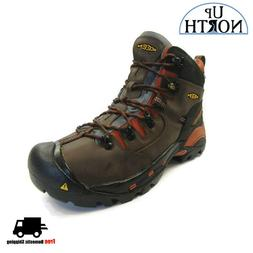 Keen Pittsburgh Soft Toe Mens Work Boot  Cascade WP NEW! FRE