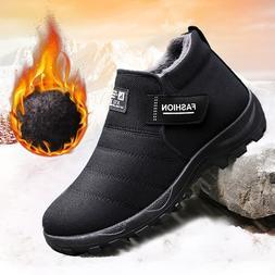 Plush <font><b>Men</b></font> Shoes Winter Snow <font><b>Boo