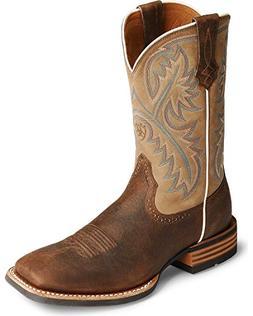 "Ariat Men's Quickdraw 11"" Western Boot Bark 14 D US"
