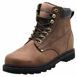 "EVER BOOTS ""Tank Men's Soft Toe Oil Full Grain Leather"