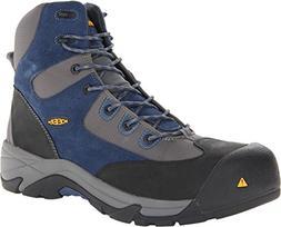 Keen Utility Men's Rainier Mid Ensign Blue/Gargoyle Boot 7 E