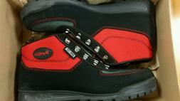 Red Vasque Skywalk, Low Men's Hiking Gortex Leather Boots *N