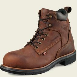 Red Wing 4215 Mens STEEL TOE Brown MADE IN THE USA Waterproo