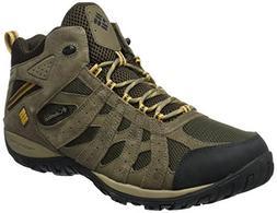 Columbia Men's Redmond MID Waterproof Hiking Boot, Cordovan,