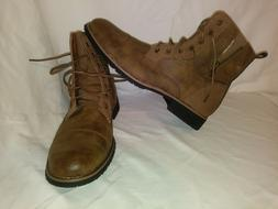 Ferro Aldo Reid Men's combat boots size 13 - color: Brown 60