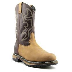 Rocky 6732 Branson Roper Steel Toe Men Round Toe Leather Bro