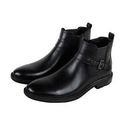 Unlisted by Kenneth Cole Roll Boot Mens Black Leather Casual
