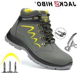 JACKSHIBO Safety Work <font><b>Boots</b></font> For <font><b
