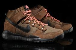 NIKE SB Dunk High Boots Military Brown/Black Mens 11