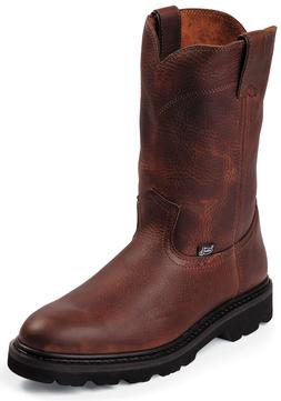 Justin Screwdriver Men's Work Boots - Lightweight Unlined Oi