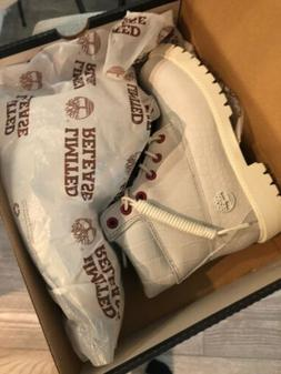 TIMBERLAND SERPENT WHITE  LIMITED A1P9Q100 6 INCH WATERPROOF