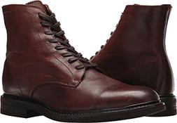 FRYE Men's Seth Cap Toe Lace Up Boot, Brown, 11 M US