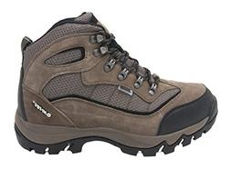 Hi-Tec Men's Skamania Mid WP Hiking Boot  US, Smokey Brown/O
