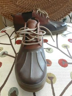SPERRY TOP SIDER FOWL WEATHER Leather  Nubuck  Low Chukka Bo