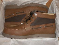 Sperry Top-Sider Leeward Lug Chukka Tan Boots--Waterproof Me