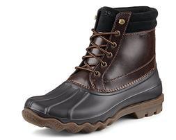 Sperry Top-Sider Men Brewster Waterproof Duck Boots Black Am
