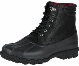 Sperry Top-Sider Men's Avenue Winter Snow Duck Boot Black, P