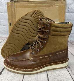 Sperry Top-Sider Men's Leather Dockyard Boots Size 9 Tan /