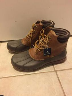 Sperry top-sider men's waterproof leather duck boots shoes