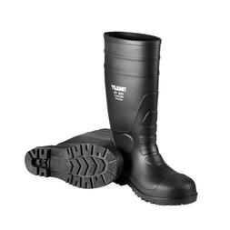 Steel Toe Boots Men Insulated Waterproof Cleated Black Size