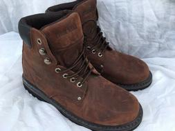 EVER BOOTS Tank Men's Leather Work Boots Sz 10.5 Oil Full Gr
