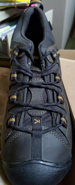 KEEN TARGHEE II Men's Waterproof Hiking Boots Shoes RAVEN/TA