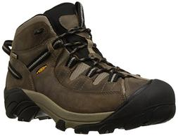 KEEN Men's Targhee II Mid Waterproof Hiking Boot,Shitake/Bri