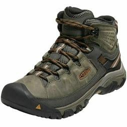 KEEN Targhee III Mid Men's Leather Waterproof Boots Choose C