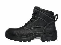 Skechers Tarlac Men's Black Steel Toe EH Puncture Resistant