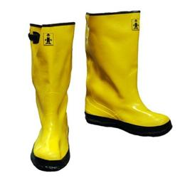 The Safety Zone Men Slush Boots 17 in. Size 11 Yellow Heavy-