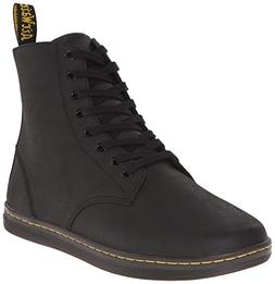 Dr. Martens Men's Tobias Boot,Black Greasy Lamper,9 UK/10 M