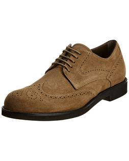 Tod's Men's DERBY Shoes Leather Oxfords Sneakers, BISCOTTO X