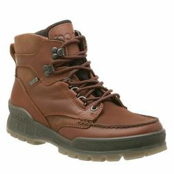 ECCO Men's Track II Mid Gore-Tex Boot,Bison,47 EU