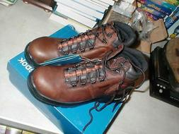 Reebok Work Men's Trainex RB7755 Work Shoe, Brown, 14 W US