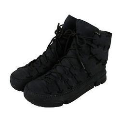 Clarks Trigenic Scale Mens Black Leather Casual Dress Lace U