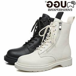 UGG ever Boots Ladies Luna 11797 Sheepskin Fashion Leather L