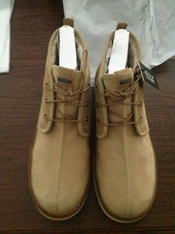 UGG Men's Avalanche Neumel Waterproof Tan Leather & Suede Ch