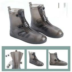 US Kids Men Women Rain Cover Shoes Waterproof Portable Rubbe