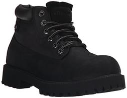 Skechers USA Men's Sergeants Verdict Chukka Boot, Black Smoo