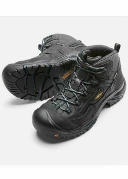 KEEN Utility Boots: Men's 1014605 Grey Waterproof EH Braddoc
