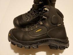 """Keen Utility Leavenworth 6"""" Met Steel Toe Boots - Men Sz 8.5"""