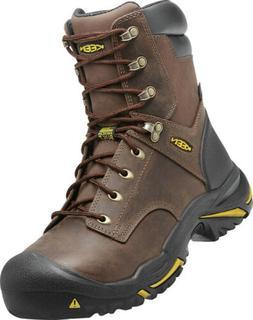 """Keen Utility Men's Mt Vernon 8"""" Waterproof Steel Toe Work Bo"""